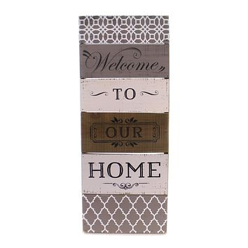Home Decor Welcome To Our Home Wall Art Home Decor
