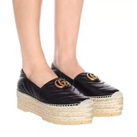Gucci Women Casual Shoes Women Fisherman's shoes