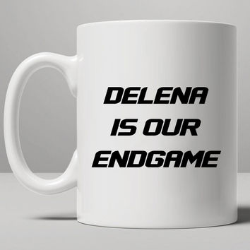 Delena is our endgame Mug, Tea Mug, Coffee Mug
