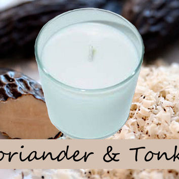 Coriander and Tonka Scented Candle in Tumbler 13 oz