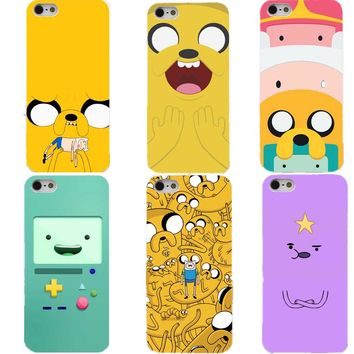 Beemo Adventure Time BMO Cartoon Funny Hard white PhoneCover Case for iPhone 4 4s 5 5s 5c SE 6 6S Plus 7 7Plus 8 8Plus X 10