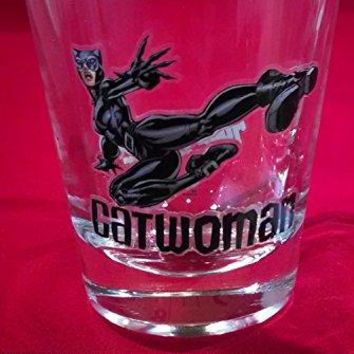 Toon Tumblertrade CATWOMAN DC Collectible Miniglass Shot Glass
