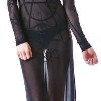 UNIF Wiccan Dress Black