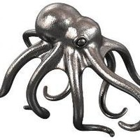 Octopus Ring 1 by nullnetwork on Shapeways