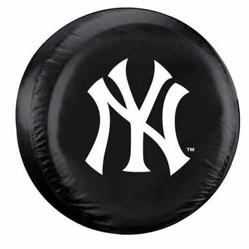New York Yankees Tire Cover Standard Size Black