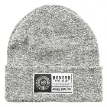 Honour Over Glory - Patch Heather Grey - Beanie
