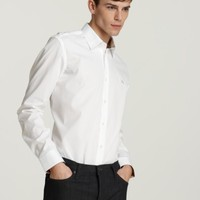 Burberry Brit Henry Button Down Shirt - Slim Fit | Bloomingdales's