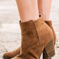 Kick The Dust Up Bootie-Tan - NEW ARRIVALS