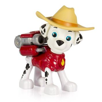 Hot Genuine Paw Patrol -- rescue team Hero Pup, Cowboy Marshall --Action Pack Pup --patrulla canina kids toy /Original box