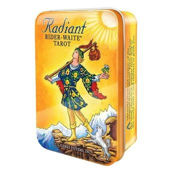 Mini Radiant Rider Waite Tarot Deck Tin Set