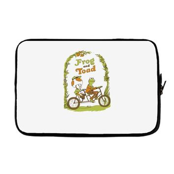 frog & toad Laptop sleeve