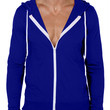 LE3NO Mens Basic Long Sleeve Zip Up Hoodie Jacket with Pockets (CLEARANCE)