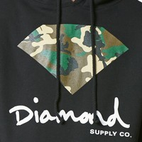 Diamond Supply Co OG Camo Sign Pullover Hoodie at PacSun.com