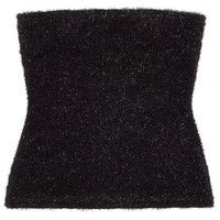 Fuzzy Logic Tube Top - Black