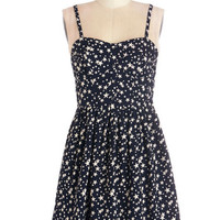 ModCloth Festival Mid-length Sleeveless A-line Celestial Being Dress