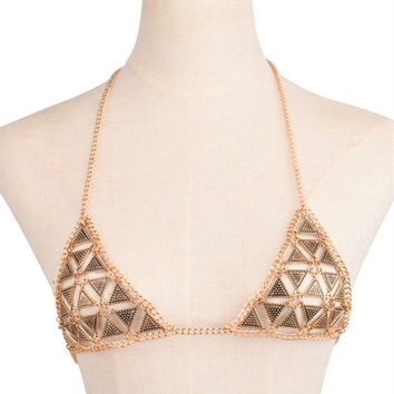 Vintage Body Chain Top