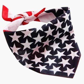 Stars & Stripes Bandana set of 2