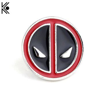 Deadpool Dead pool Taco Charm anime cartoon  brooches Pin New fashion Peru brooch lapel pin men Caught in the scarf  clothes Accessory badge AT_70_6