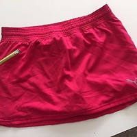 EUC Puma Pink Athletic Skirt Skort Size Small