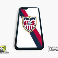 Usa Soccer iPhone Case 4, 4s, 5, 5s, 5c, 6 and 6 plus by Avallen