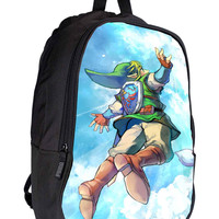 The Legend of Zelda Skyward Sword c8f3a90a-a868-4dff-971d-5e50e14b5351 for Backpack / Custom Bag / School Bag / Children Bag / Custom School Bag *02*