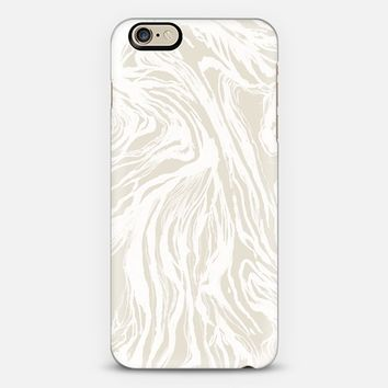 Marbled Nude iPhone 6 case by Caitlin Workman | Casetify