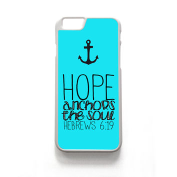 Hope Anchors the Soul Hebrew iPhone Case - iPhone 6/6s, iPhone 6+/6s+