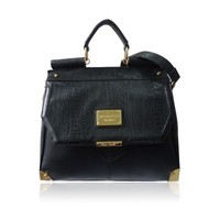 The Neko Shoulder Bag by Anna Smith in Black