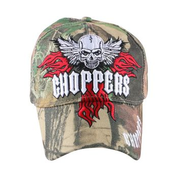 Choppers Skull Camouflage