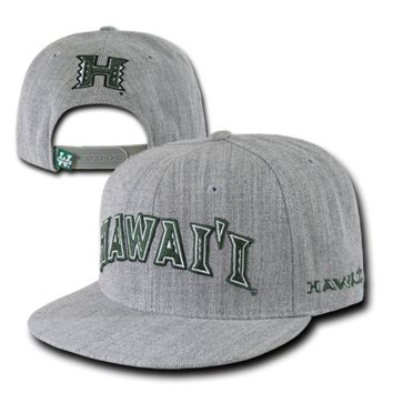 College University Hawaii State Hat Sports Baseball Cap WRA 1003