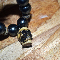Halloween Bracelet Day of the Dead Skull