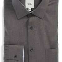 Men's W.R.K Trim Fit Melange Dress Shirt