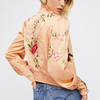 Free People Bali Just Peachy Jacket