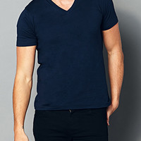 Slim Fit V-Neck Tee