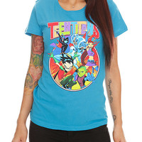 DC Comics Teen Titans Group Girls T-Shirt
