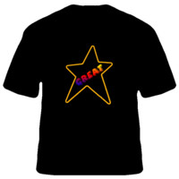 great star Men TShirt Size S,M, L, XL, 2XL, 3XL, 4XL and 5XL