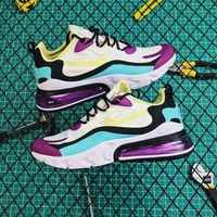 Nike Air Max 270 React Bright Violet Shoes - Best Online Sale