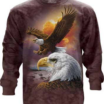 Eagle & Clouds Long Sleeve Tee