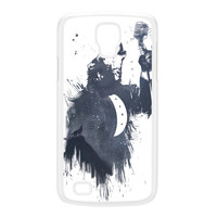 Wolf Song 3 White Hard Plastic Case for Galaxy S4 Active by Balazs Solti