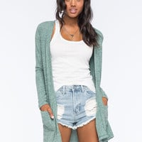 O'neill Dusty Womens Cardigan Sage  In Sizes