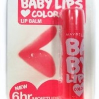Maybelline Baby Lips Loves Color Lipcare Spf 16 - Cherry Kiss