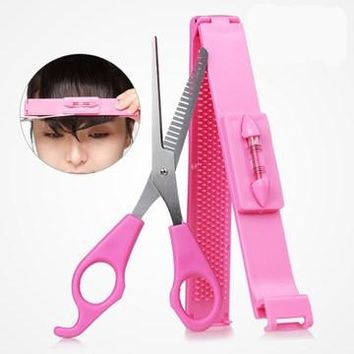 Hair scissors bang modelling set DIY hair tools hair care
