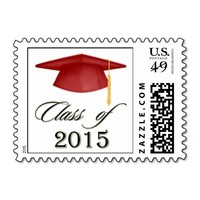 Choose your color Mortar graduation 2015 Postage