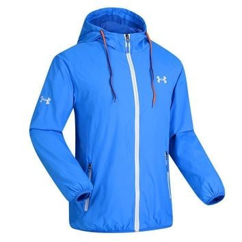 Under Armour Cardigan Jacket Coat Hoodie Windbreaker-2