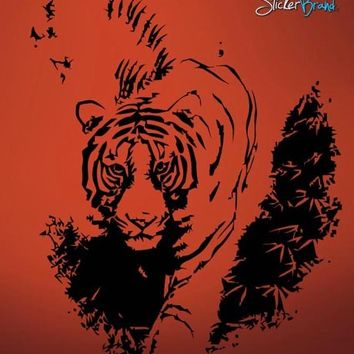 Vinyl Wall Decal Sticker Tiger Prowling #627