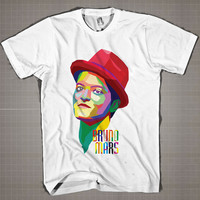 BRUNO MARS WPAP  Mens and Women T-Shirt Available Color Black And White