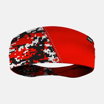 Arsenal Digi Camo Red Black White Headband