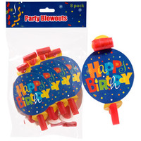 "Bulk Whimsy ""Happy Birthday"" Blowouts, 8-ct. Packs at DollarTree.com"