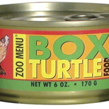 Zoo Med Box Turtle Canned Food 6 oz