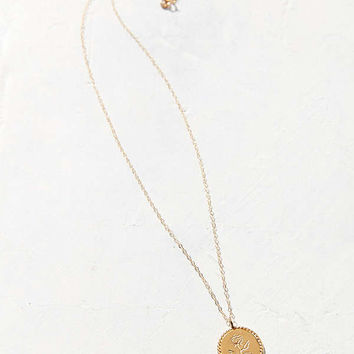 Wolf Circus Rose Coin Pendant Necklace | Urban Outfitters